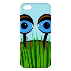 Snail Apple Iphone 5 Premium Hardshell Case by Valentinaart