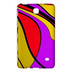Colorful Lines Samsung Galaxy Tab 4 (8 ) Hardshell Case  by Valentinaart