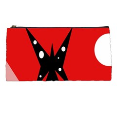 Black Butterfly  Pencil Cases by Valentinaart