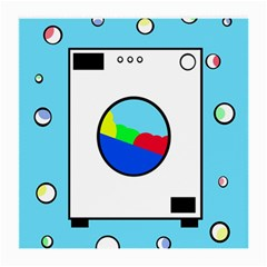 Washing Machine  Medium Glasses Cloth by Valentinaart