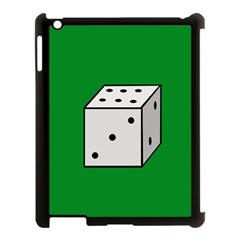 Dice  Apple Ipad 3/4 Case (black) by Valentinaart