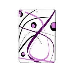 Pink Elegant Design Ipad Mini 2 Hardshell Cases by Valentinaart