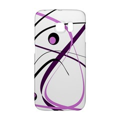 Pink Elegant Design Galaxy S6 Edge by Valentinaart