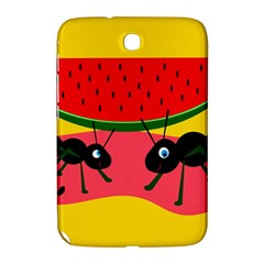 Ants And Watermelon  Samsung Galaxy Note 8 0 N5100 Hardshell Case  by Valentinaart