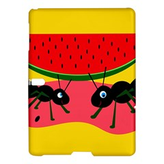 Ants And Watermelon  Samsung Galaxy Tab S (10 5 ) Hardshell Case  by Valentinaart