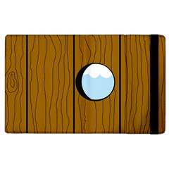 Over The Fence  Apple Ipad 2 Flip Case by Valentinaart