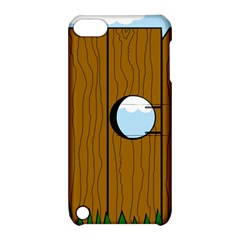 Over The Fence  Apple Ipod Touch 5 Hardshell Case With Stand by Valentinaart