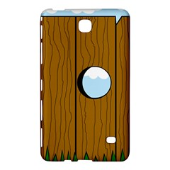 Over The Fence  Samsung Galaxy Tab 4 (7 ) Hardshell Case  by Valentinaart