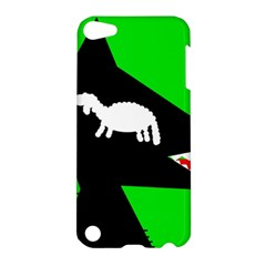 Wolf And Sheep Apple Ipod Touch 5 Hardshell Case by Valentinaart