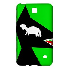 Wolf And Sheep Samsung Galaxy Tab 4 (8 ) Hardshell Case  by Valentinaart