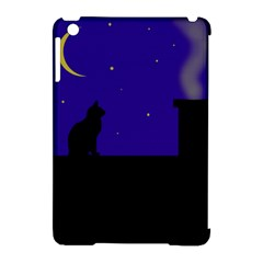 Cat On The Roof  Apple Ipad Mini Hardshell Case (compatible With Smart Cover) by Valentinaart