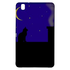 Cat On The Roof  Samsung Galaxy Tab Pro 8 4 Hardshell Case by Valentinaart