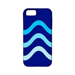 Blue Waves  Apple Iphone 5 Classic Hardshell Case (pc+silicone) by Valentinaart