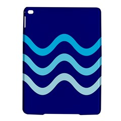 Blue Waves  Ipad Air 2 Hardshell Cases by Valentinaart