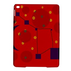 Red Abstract Sky Ipad Air 2 Hardshell Cases by Valentinaart