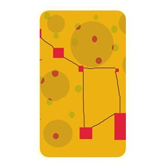 Yellow Abstract Sky Memory Card Reader by Valentinaart