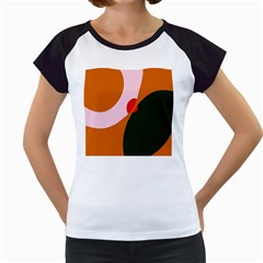 Decorative Abstraction  Women s Cap Sleeve T by Valentinaart