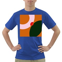 Decorative Abstraction  Dark T Shirt by Valentinaart