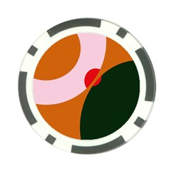 Decorative Abstraction  Poker Chip Card Guards by Valentinaart