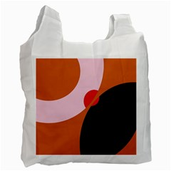 Decorative Abstraction  Recycle Bag (one Side) by Valentinaart