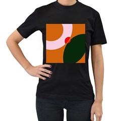 Decorative Abstraction  Women s T Shirt (black) by Valentinaart