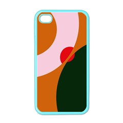 Decorative Abstraction  Apple Iphone 4 Case (color) by Valentinaart