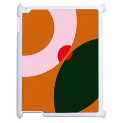 Decorative Abstraction  Apple Ipad 2 Case (white) by Valentinaart