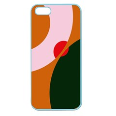 Decorative Abstraction  Apple Seamless Iphone 5 Case (color) by Valentinaart