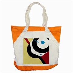 Digital Abstraction Accent Tote Bag by Valentinaart