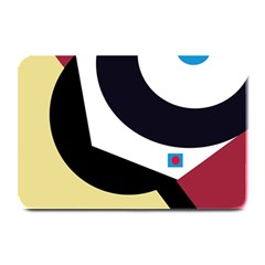 Digital abstraction Plate Mats by Valentinaart
