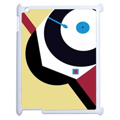 Digital Abstraction Apple Ipad 2 Case (white) by Valentinaart