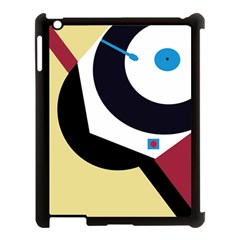 Digital Abstraction Apple Ipad 3/4 Case (black) by Valentinaart