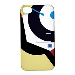 Digital Abstraction Apple Iphone 4/4s Hardshell Case With Stand by Valentinaart