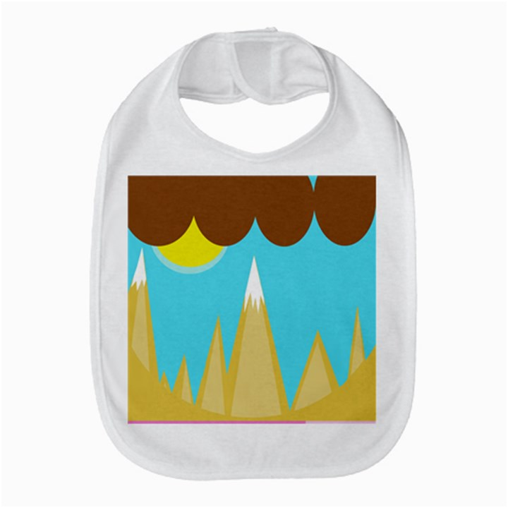 Abstract landscape  Bib