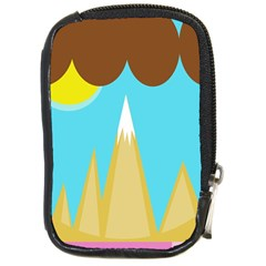 Abstract landscape  Compact Camera Cases by Valentinaart