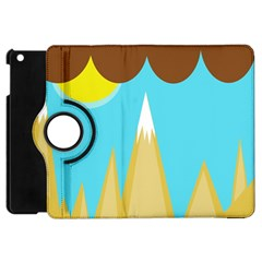 Abstract Landscape  Apple Ipad Mini Flip 360 Case by Valentinaart