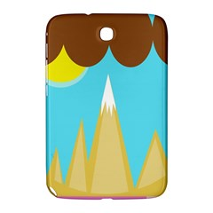 Abstract Landscape  Samsung Galaxy Note 8 0 N5100 Hardshell Case  by Valentinaart