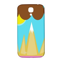 Abstract Landscape  Samsung Galaxy S4 I9500/i9505  Hardshell Back Case by Valentinaart