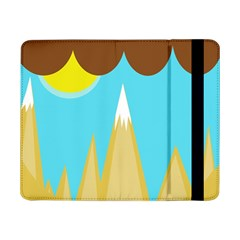 Abstract Landscape  Samsung Galaxy Tab Pro 8 4  Flip Case by Valentinaart