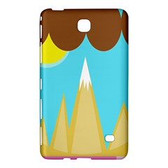 Abstract Landscape  Samsung Galaxy Tab 4 (7 ) Hardshell Case  by Valentinaart