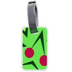 Cherries  Luggage Tags (one Side)  by Valentinaart