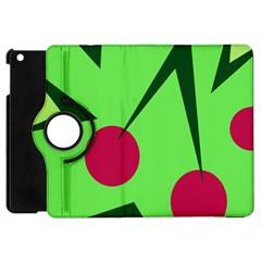 Cherries  Apple Ipad Mini Flip 360 Case by Valentinaart