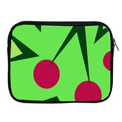 Cherries  Apple Ipad 2/3/4 Zipper Cases by Valentinaart