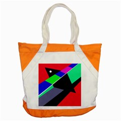 Abstract Fish Accent Tote Bag by Valentinaart