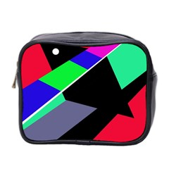 Abstract Fish Mini Toiletries Bag 2 Side by Valentinaart