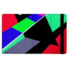 Abstract Fish Apple Ipad 3/4 Flip Case by Valentinaart