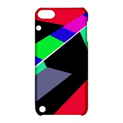 Abstract Fish Apple Ipod Touch 5 Hardshell Case With Stand by Valentinaart