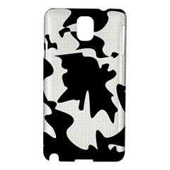 Black and white elegant design Samsung Galaxy Note 3 N9005 Hardshell Case