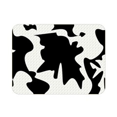 Black And White Elegant Design Double Sided Flano Blanket (mini)  by Valentinaart
