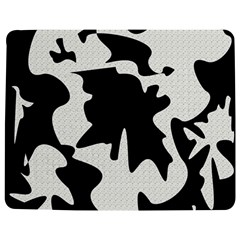Black And White Elegant Design Jigsaw Puzzle Photo Stand (rectangular) by Valentinaart